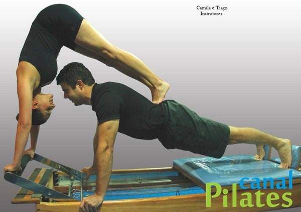 instrutores pilates camila tiago