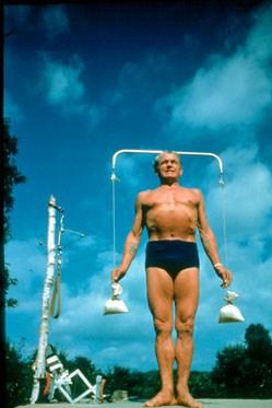 joseph pilates exercício ar livre