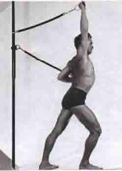 joseph pilates exercício braço