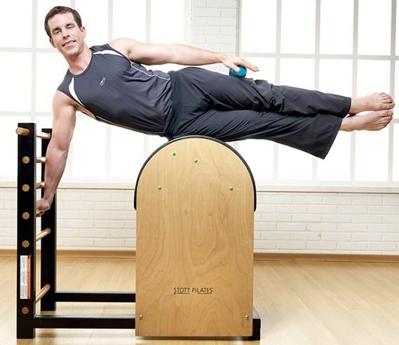ladder barrel exercício para os  braços