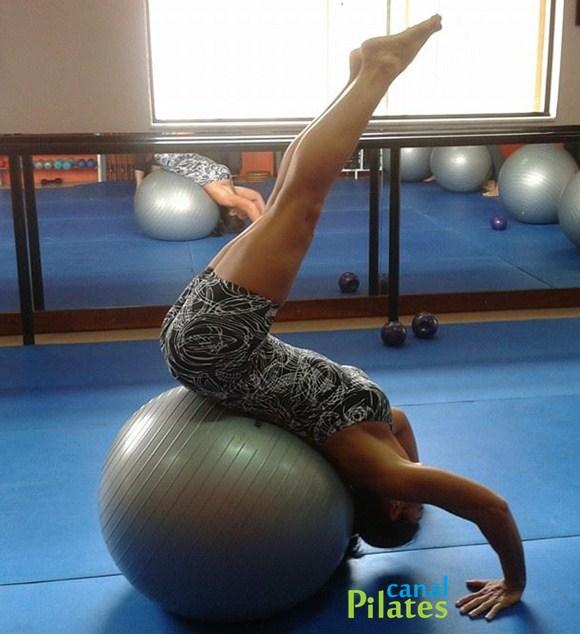 maria gasparina bola pilates