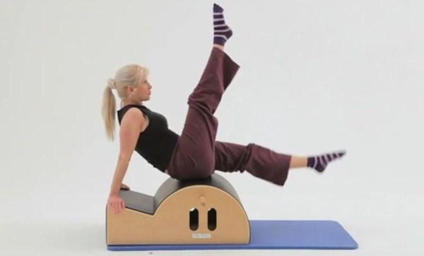 step barrel exercício